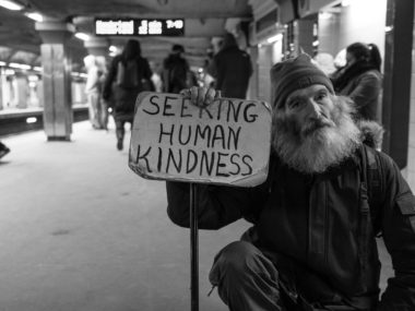 Image of Homeless Man