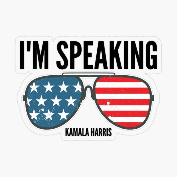 """I'm Speaking-Vice President Kamala Harris"